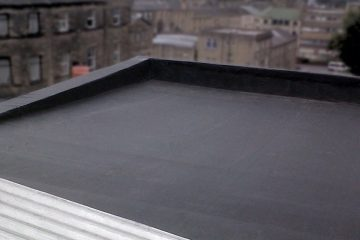 EPDM Rubber Flat Roof Fitter Lemington