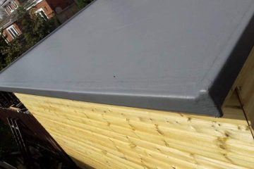 GRP Fibreglass Flat Roofing Middlesbrough